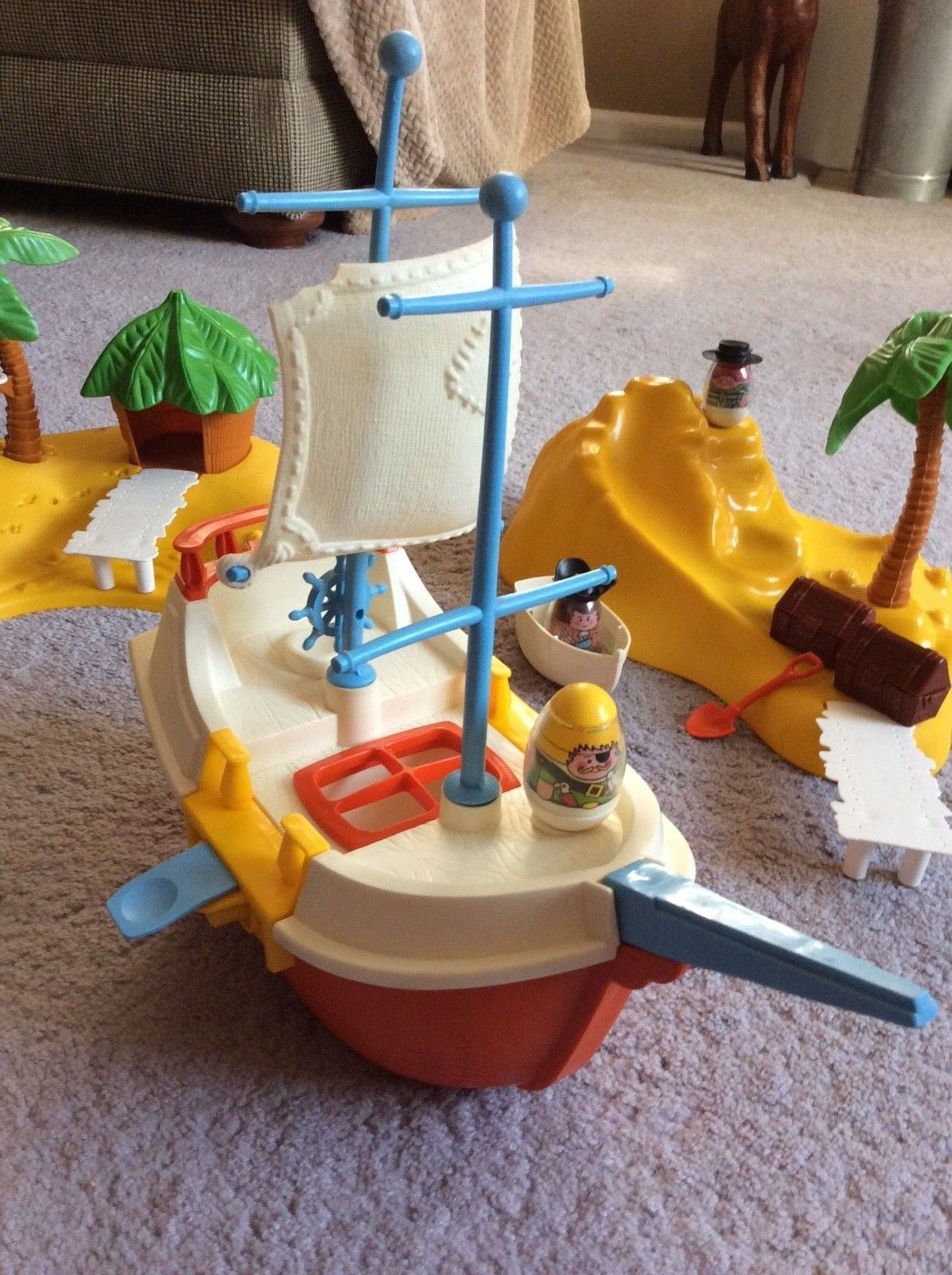 Weebles pirate ship