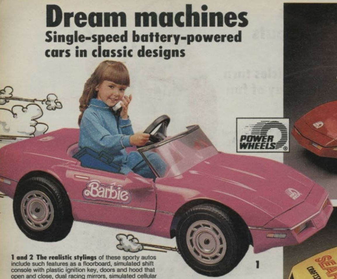 Barbie dream car