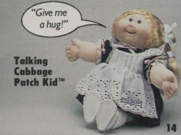 Talking cabbage patch doll