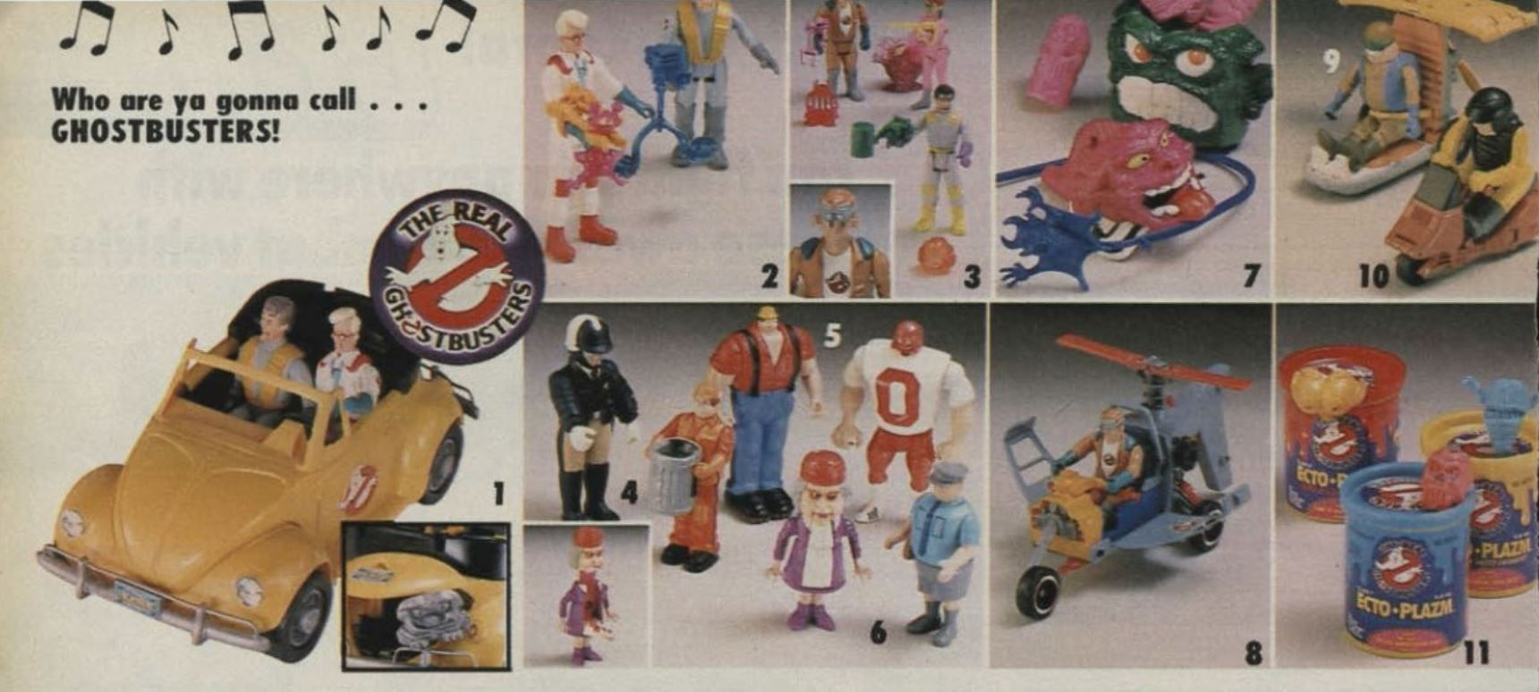 Ghostbusters toys wishbook
