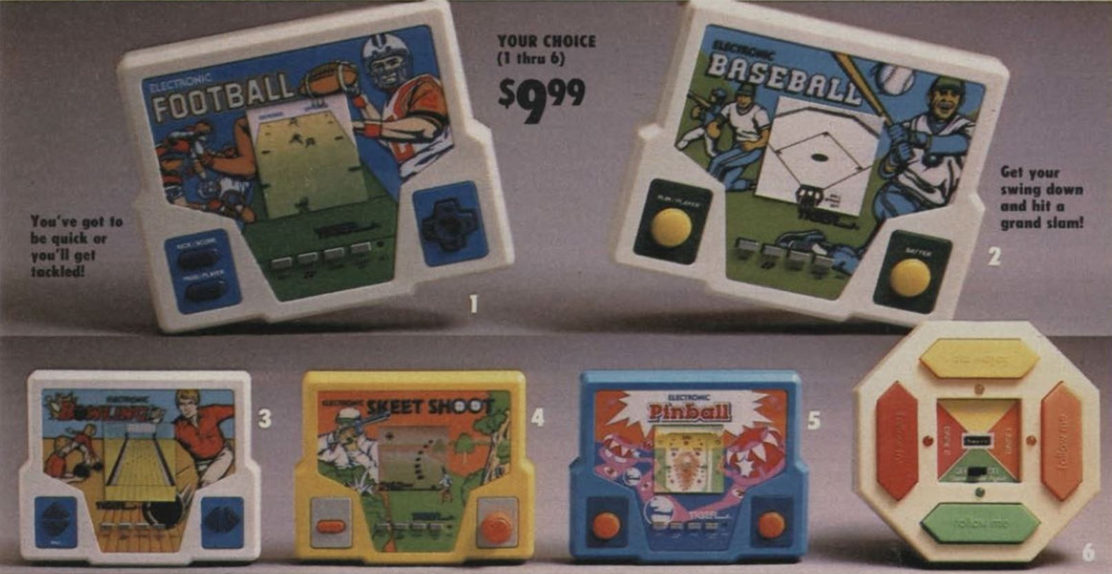 Handheld video games