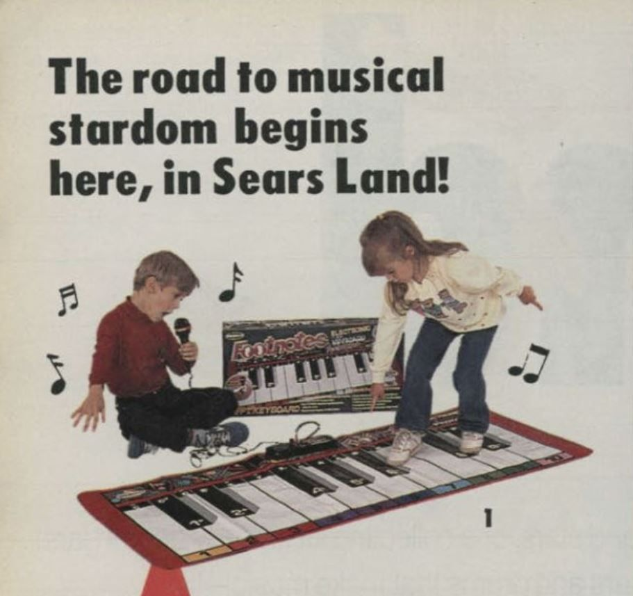 Sears piano matt
