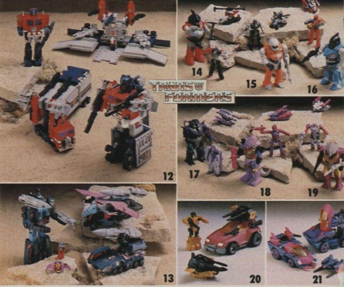 Transformers wishbook