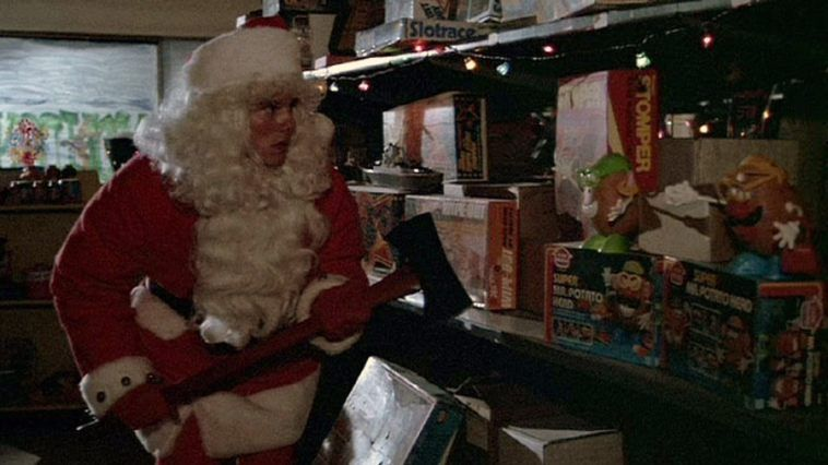 Billy and his ax in 'Silent Night, Deadly Night'