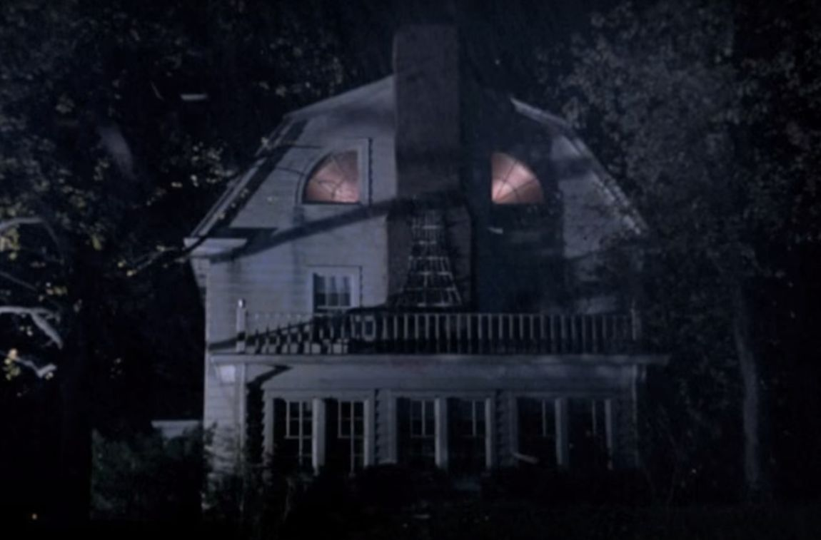 The house from 'The Amityville Horror'