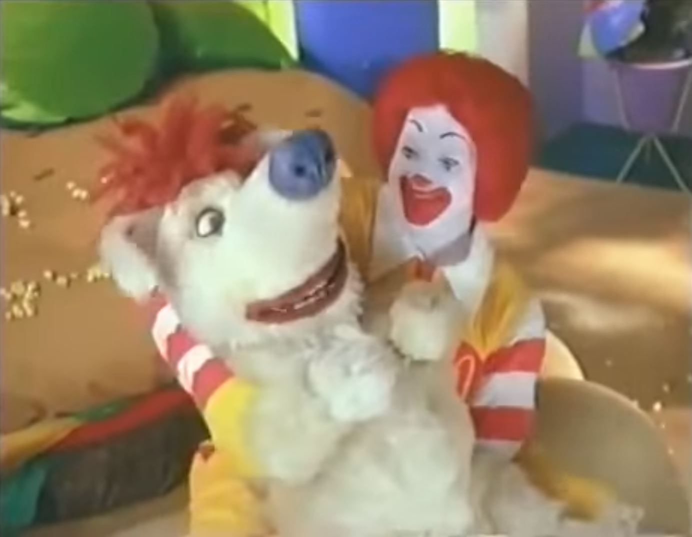 Ronald and Sundae Scared Silly