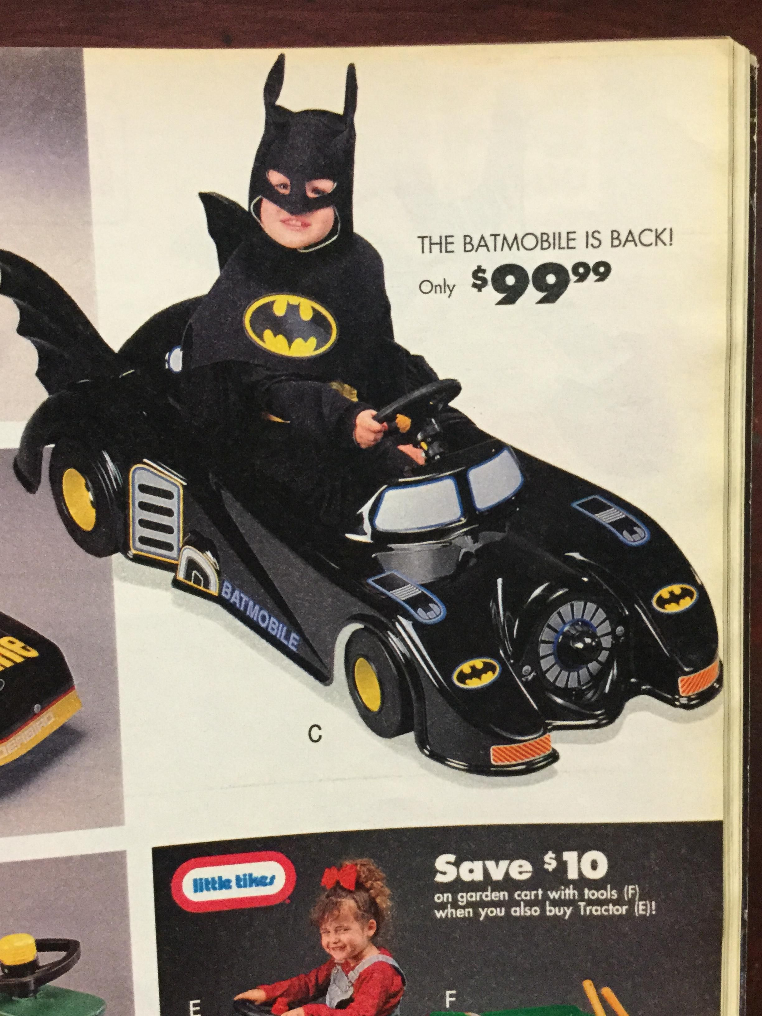Sears Wish Book Batmobile