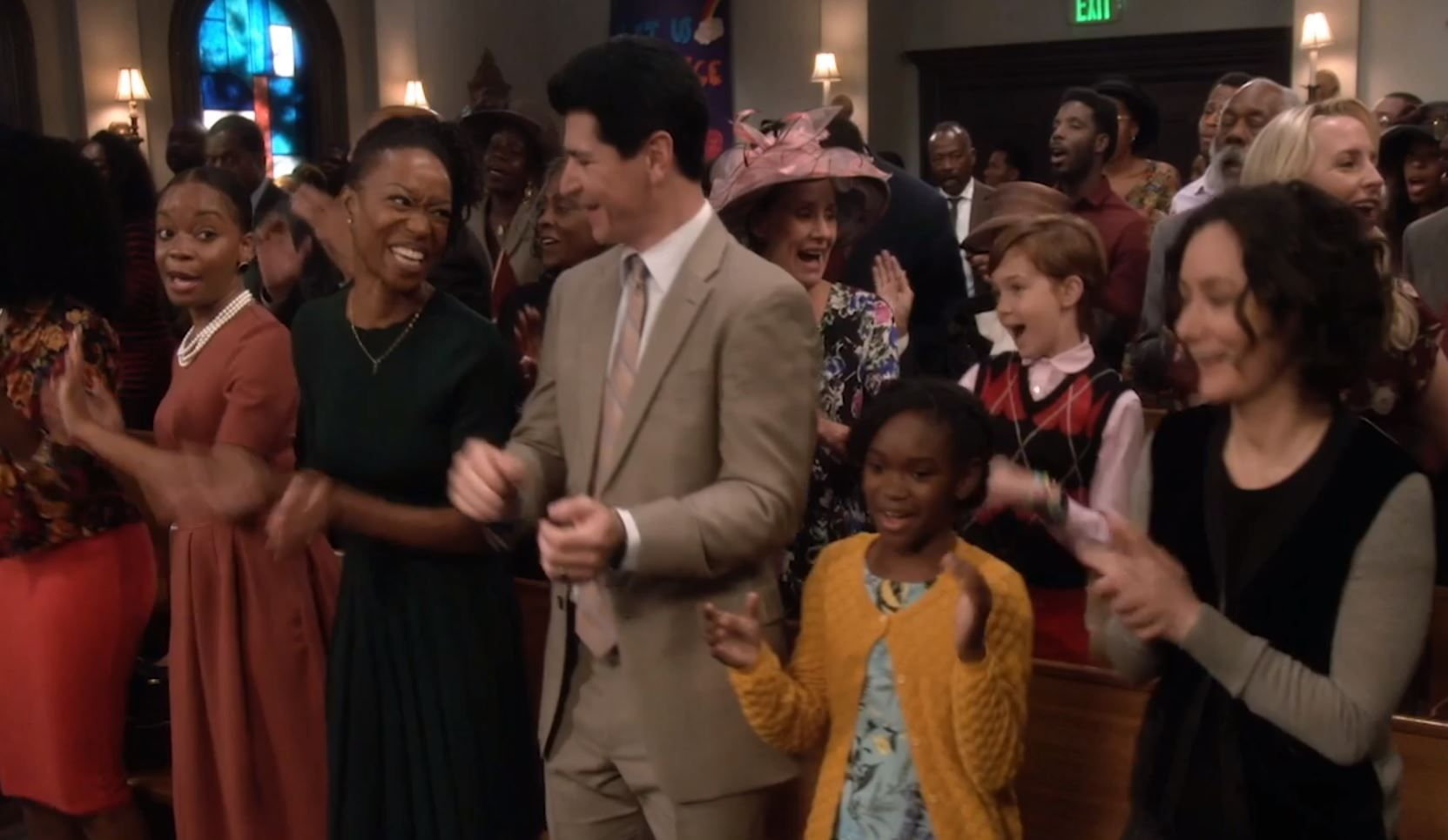 The Conners At church promo
