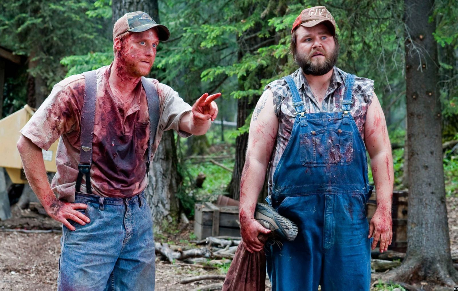 Alan Tudyk and Tyler Labine in 'Tucker and Dale vs Evil'