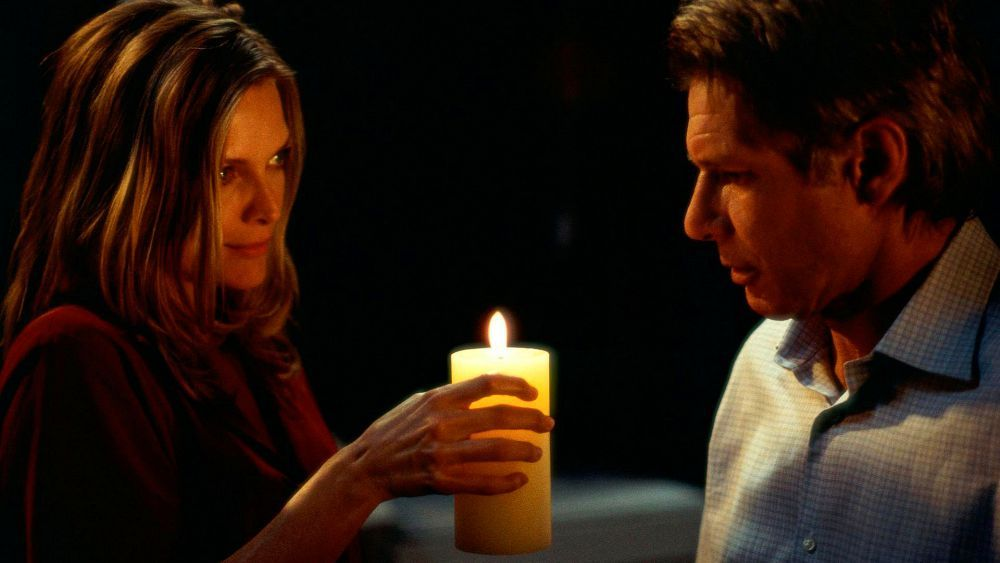 Michelle Pfeiffer and Harrison Ford in 'What Lies Beneath'