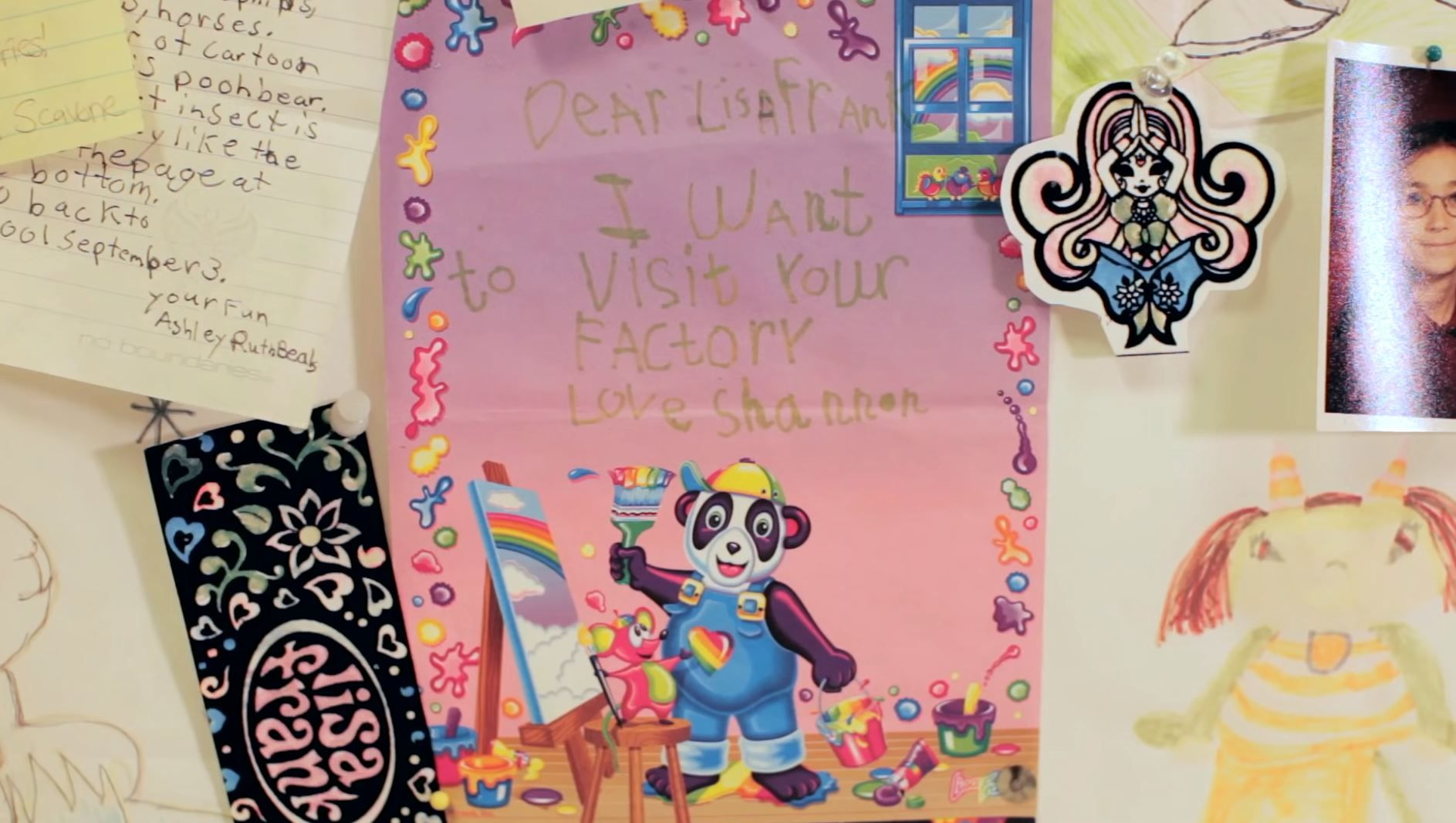 Lisa Frank factory tour