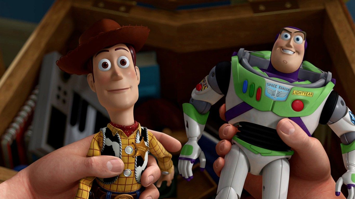 Buzz and Woody Toy Story